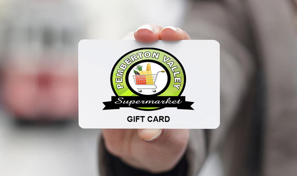 Pemberton Grocery Gift Cards