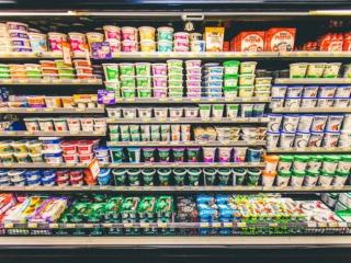 Pemberton Valley Supermarket Dairy Section