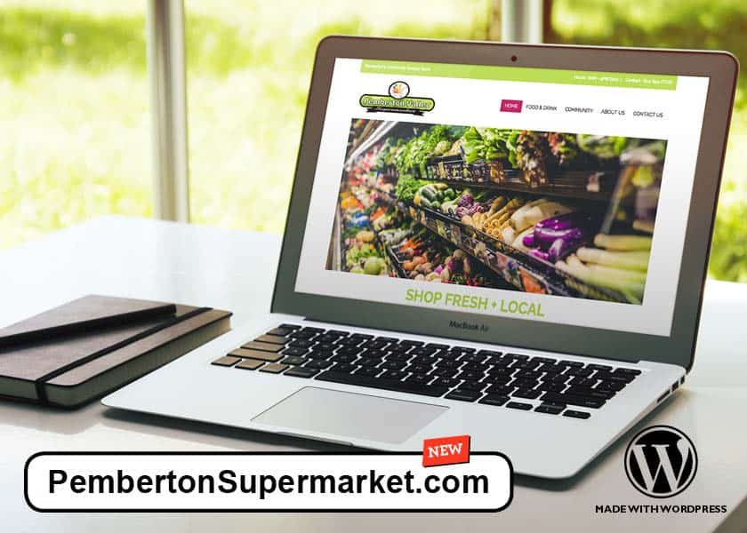 Pemberton Valley Supermarket Website