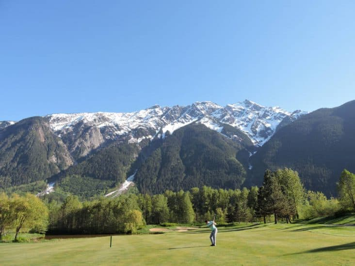 Big Sky Golf Pemberton BC