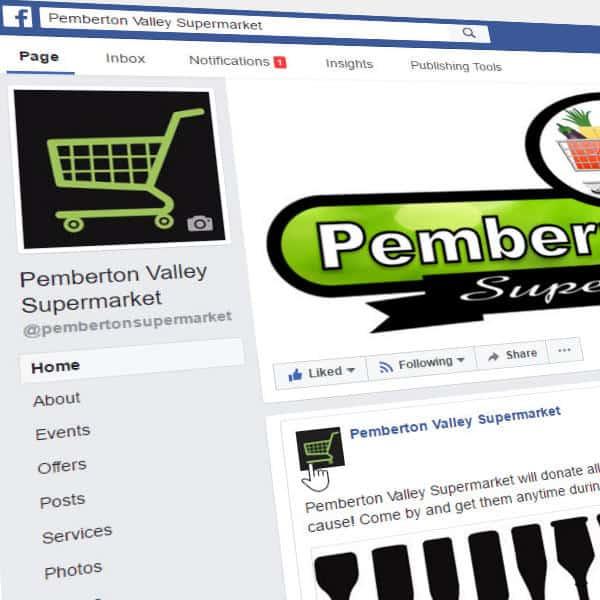 Pemberton Valley Supermarket-facebook Page