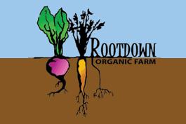 Rootdown Organic Farm Pemberton logo