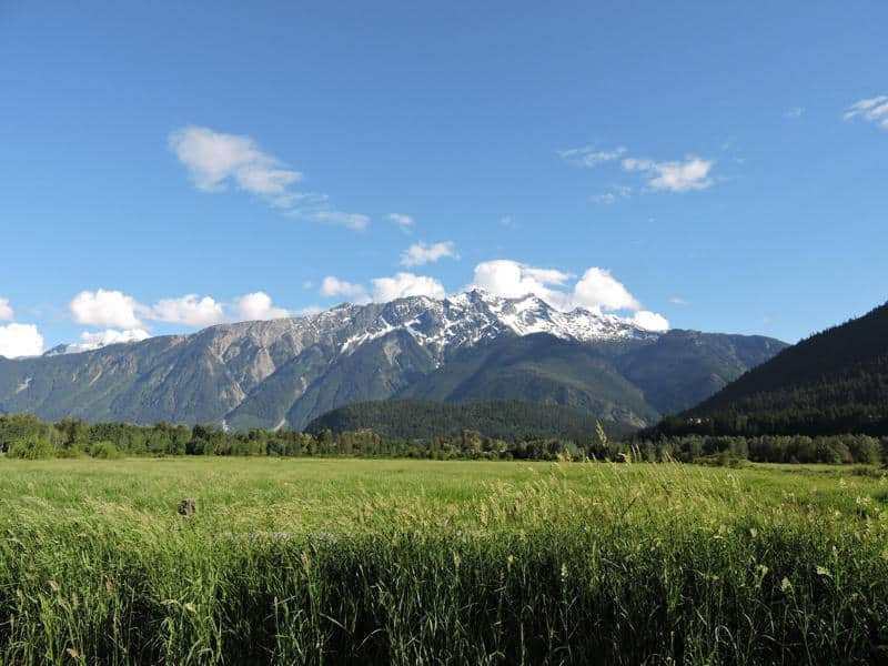 Mt Currie Pemberton Valley Summer