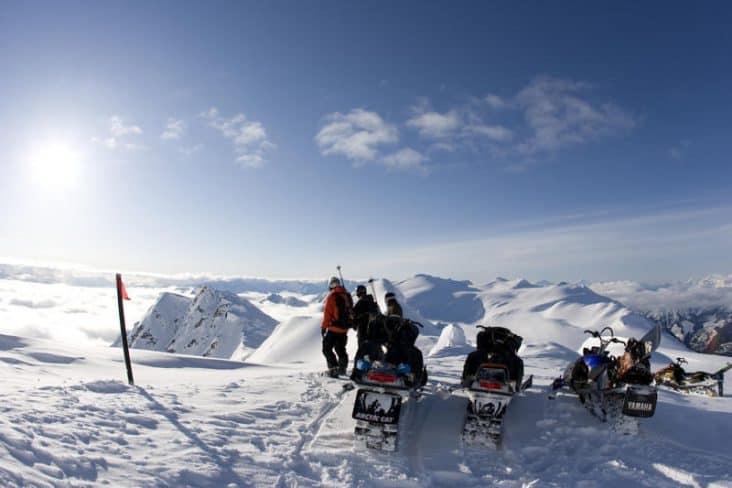 Pemberton Snowmobiling Alpine