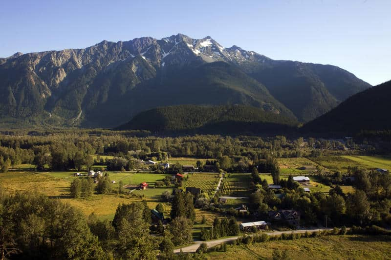 Pemberton Valley Mt Currie Summer