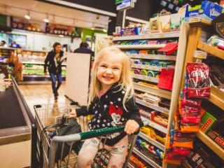 Family Shopping at Pemberton Valley Supermarket
