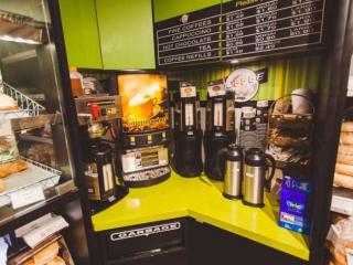Pemberton Valley Supermarket Coffee Station