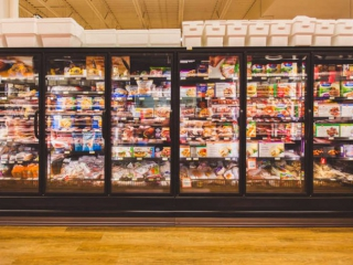 Pemberton Valley Supermarket Freezer Section