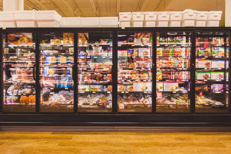 Pemberton Valley Supermarket Freezer Section