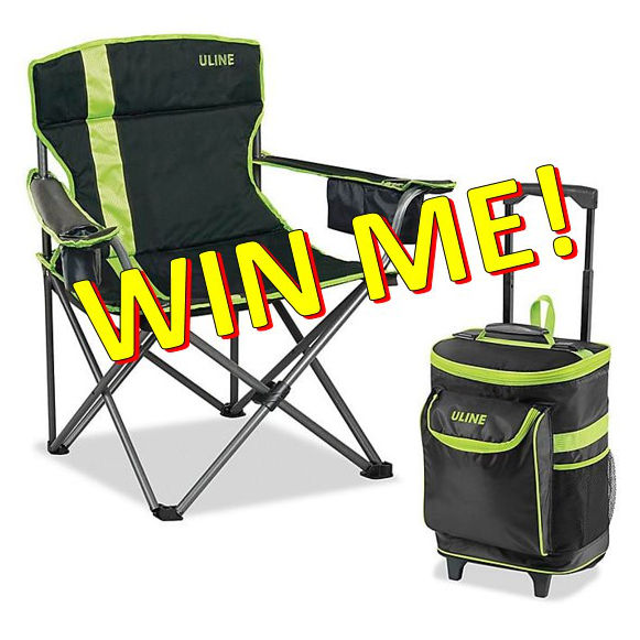 Camper Chair and Cooler